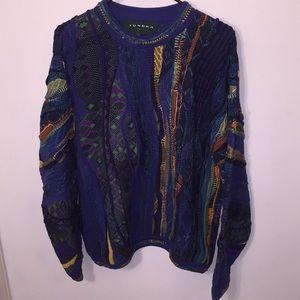 Vintage Coogi Style Tundra Sweater